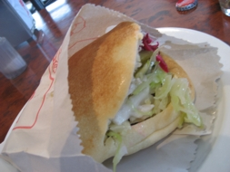 Falafil Sandwich - Photos by Steve Singer